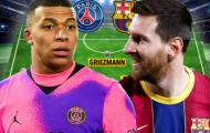 Đội hình kết hợp PSG và Barcelona trong mơ: Song tấu đáng sợ