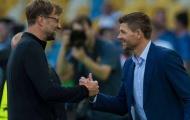 XONG! Steven Gerrard đáp trả tin đồn thay Klopp dẫn dắt Liverpool