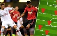 Đội hình kết hợp Man Utd vs AC Milan: Quỷ Đỏ áp đảo, Rossoneri có 4 cái tên