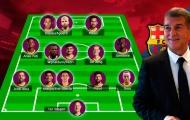 Đội hình trong mơ của Barcelona dưới kỷ nguyên Joan Laporta: ''Vĩnh biệt'' nỗi lo hàng thủ, cặp song sát Argentina