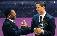 Bị xô đổ kỷ lục, 'Vua bóng đá' vẫn dành cho Ronaldo lời khen ngợi