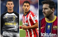 Ronaldo, Messi và Luis Suarez, ai lập hat-trick nhiều nhất thế kỷ 21?