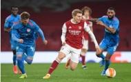 5 điểm nhấn Arsenal 0-1 Olympiacos: Ngán ngẩm 'chân gỗ'; Odegaard tạo khác biệt