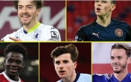10 ngôi sao đang 'lên hương' tại Premier League: Grealish xếp thứ 7, 'siêu nhân' Arsenal thống trị