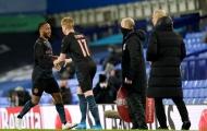 9 con số đặc biệt trận Everton 0-2 Man City: De Bruyne chỉ cần 10 phút