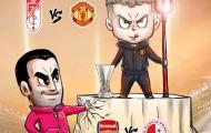 Cười té khói với loạt ảnh chế bốc thăm tứ kết Europa League