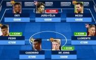 Đội hình đắt giá nhất La Liga: Mục tiêu của Man Utd chắc suất, 'Iniesta mới' tăng giá chóng mặt