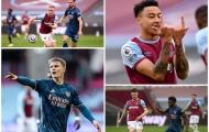 Điểm nhấn West Ham 3-3 Arsenal: Lingard 'nhảy múa' trước Pháo thủ