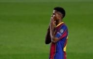 Ansu Fati lại báo tin dữ đến các CĐV yêu mến Barcelona