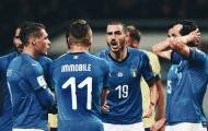 Đội hình ĐT Italia đấu Bắc Ireland: Tam tấu I.I.C xuất kích?