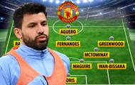 Man United khủng cỡ nào nếu chiêu mộ Aguero?