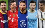 Top 10 ngôi sao đỉnh nhất châu Âu năm 2021: Messi số 1, Ronaldo tụt dốc