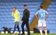 Mikel Arteta nói gì về việc tái ngộ Sergio Aguero tại Emirates?