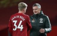 Solskjaer mang đến cho Van de Beek niềm hy vọng mới