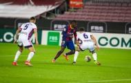 Dembele bùng nổ phút 90, Barcelona chỉ còn kém Atletico 1 điểm