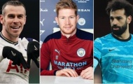 Top 10 ngôi sao hưởng lương khủng nhất Premier League: De Bruyne thứ 3, De Gea thua xa 1 người