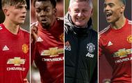 Top 10 sao mai Man United ra mắt đội 1 giờ thế nào?