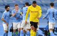 Đội hình Man City đấu Dortmund: Bộ ba tiền vệ D.R.G góp mặt?