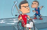 Cười té khói với loạt ảnh chế PSG loại Bayern