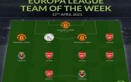 Đội hình tiêu biểu tứ kết lượt về Europa League: 'Liên minh' Man Utd - Arsenal áp đảo
