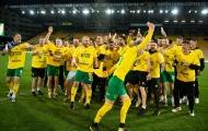 'Chim hoàng yến' Norwich mở hội sau khi sớm trở lại Premier League