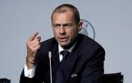 Châu Âu rung chuyển! Chủ tịch UEFA vạch mặt 2 'con rắn dối trá'