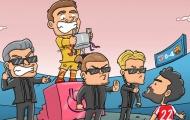 Cười té khói với loạt ảnh chế Barca vô địch Cúp Nhà vua