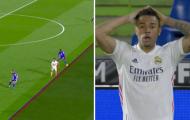 Sao Real bị tước bàn thắng theo cách khó tin