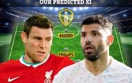 Có Aguero và Milner, đội hình của Leeds sẽ khủng đến mức nào?