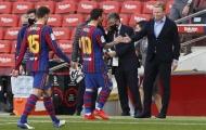 Koeman đang chờ 'sát thủ ẩn mình' của Barca trở lại