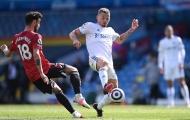 'Bỏ túi' Bruno Fernandes, sao Leeds chặn luôn cửa thắng của Man Utd