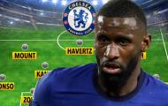 Đội hình Chelsea đấu Fulham: Werner lên ghế dự bị?