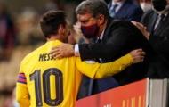Messi sắp ký vào bản hợp đồng 10 năm với Barcelona
