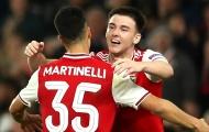 Arteta chỉ ra vấn đề nan giải giữa Martinelli và Tierney tại Arsenal