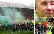 SỐC! Máu đã đổ, CĐV M.U bạo loạn tấn công cả huyền thoại Liverpool
