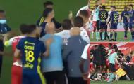 SỐC! 5 thẻ đỏ xuất hiện ở đại chiến Ligue 1
