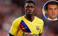 Dembele chưa cam kết tương lai, chủ tịch Barca ngay lập tức hành động