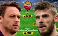 Đội hình Roma khủng ra sao dưới thời Mourinho?