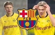 Barcelona gửi lời đề nghị đầu tiên cho Erling Haaland