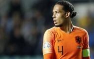 CHÍNH THỨC! Van Dijk báo hung tin cho ĐT Hà Lan trước VCK EURO 2020