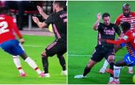 Hazard bị triệt hạ thô bạo, Zidane 'nổi đóa' ngoài đường biên