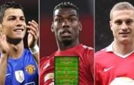 Đội hình những ngôi sao 'ngoại quốc' xuất sắc nhất M.U