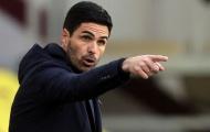 'Mikel Arteta hưởng lợi từ việc thi đấu không khán giả'