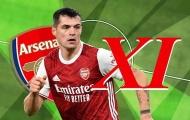 Đội hình Arsenal đấu Palace: 'Máy quét' tuyến giữa