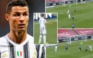 Siêu phẩm kiến tạo của Ronaldo bị đồng đội bỏ lỡ