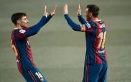 Barca công bố đội hình vòng đấu cuối: Messi vắng mặt