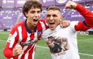 2 cầu thủ Arsenal vô địch La Liga cùng Atletico Madrid