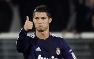 Ronaldo cán mốc khủng với M.U, Real và Juve