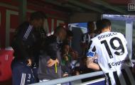 Tập thể Juve phản ứng thế nào sau khi đoạt vé dự Champions League?