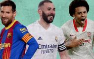 Đội hình hay nhất mùa giải của La Liga: Bộ ba nguyên tử